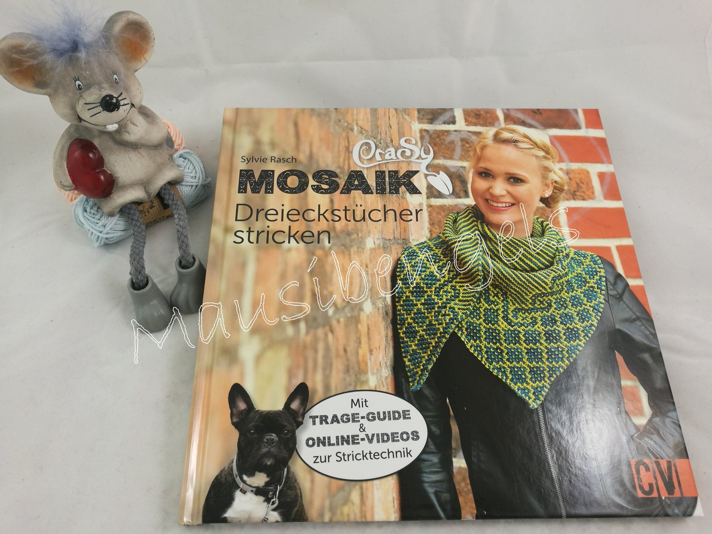 Crasy Mosaik Tücher Stricken Mausibengels