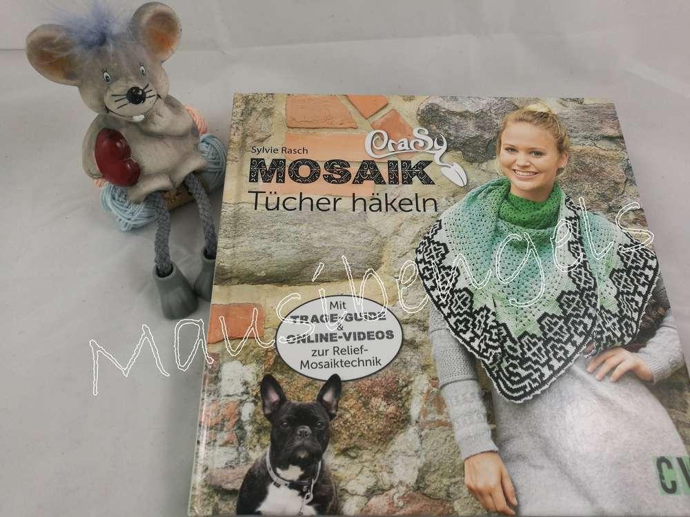 Crasy Mosaik Tücher Häkeln Mausibengels