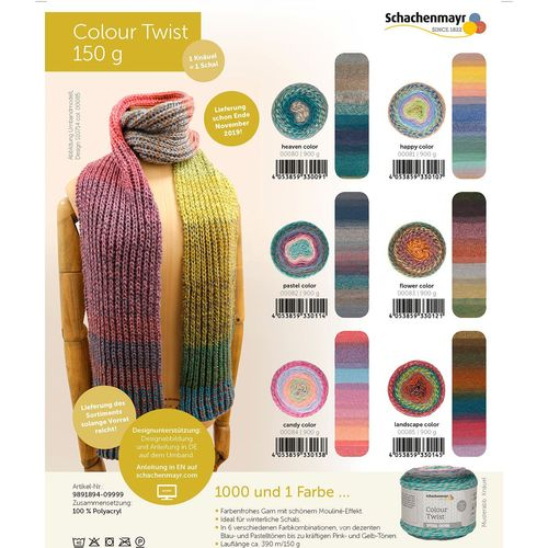 Schachenmayr Colour Twist
